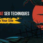 ۴۴ تکنیک سئو کلاه سیاه که سایت شما را نابود می کند