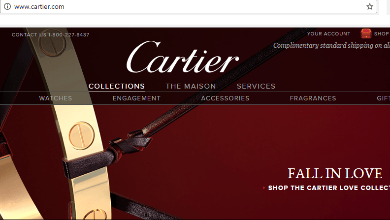 Cartier-website