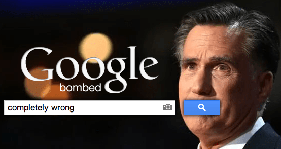 Google-bombing-Romney-Completely-Wrong